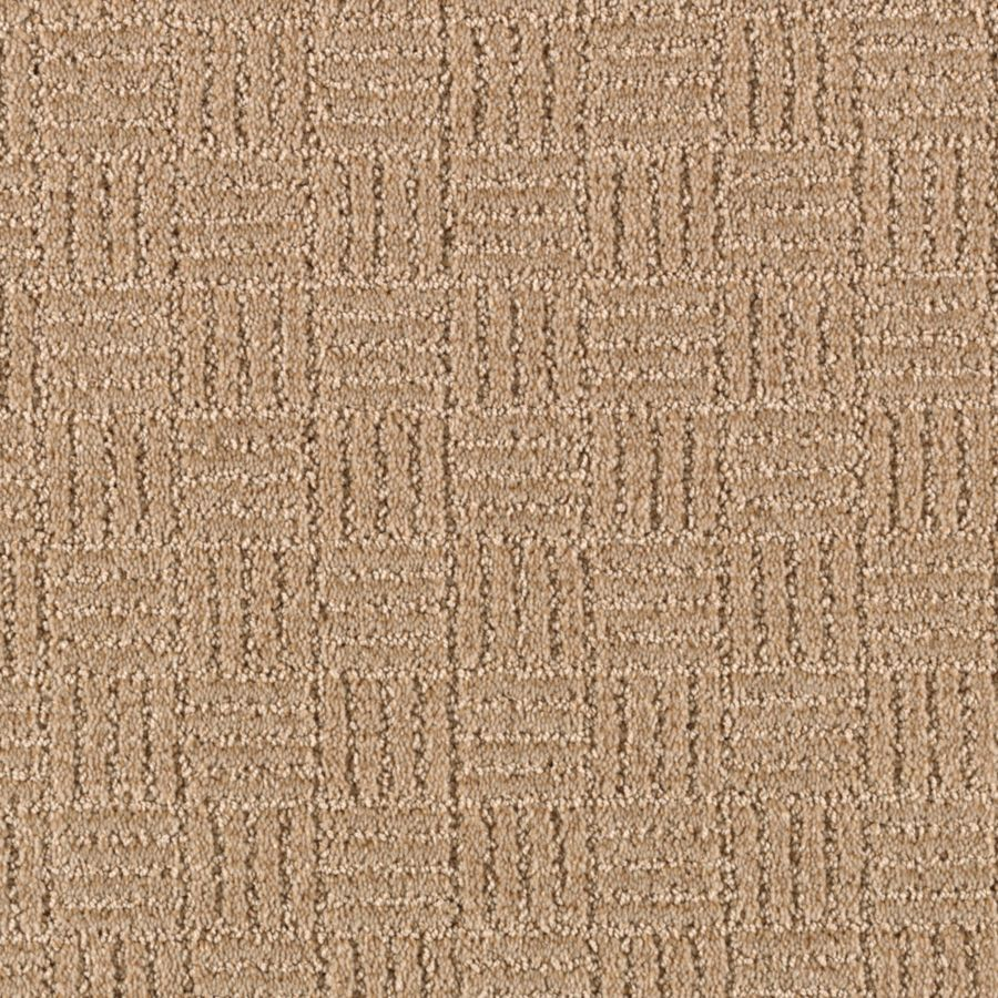 Mohawk Essentials Stylesboro 12-ft W x Cut-to-Length Mesa Tan Textured Interior Carpet