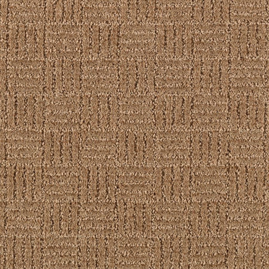 Mohawk Essentials Stylesboro 12-ft W x Cut-to-Length Soft Mink Textured Interior Carpet