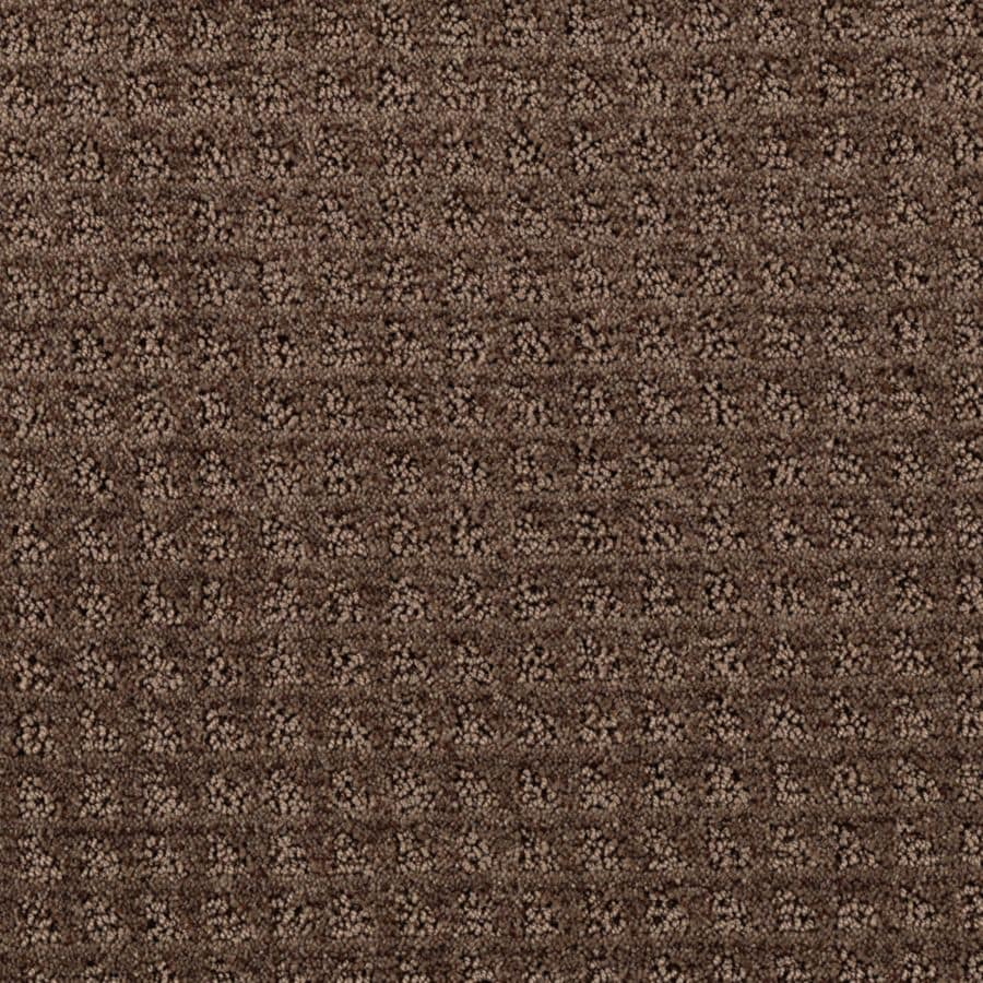 Mohawk Essentials Designboro 12-ft W x Cut-to-Length Cigar Leaf Textured Interior Carpet