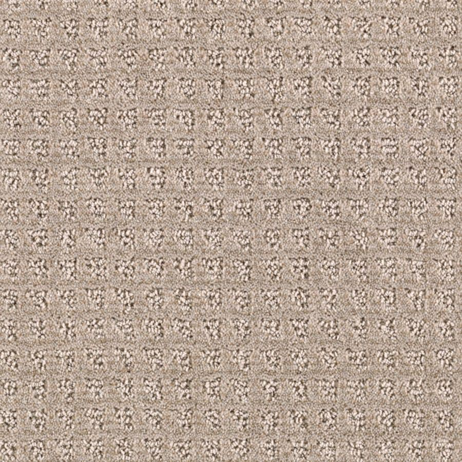 Mohawk Essentials Designboro 12-ft W x Cut-to-Length Light Musk Textured Interior Carpet