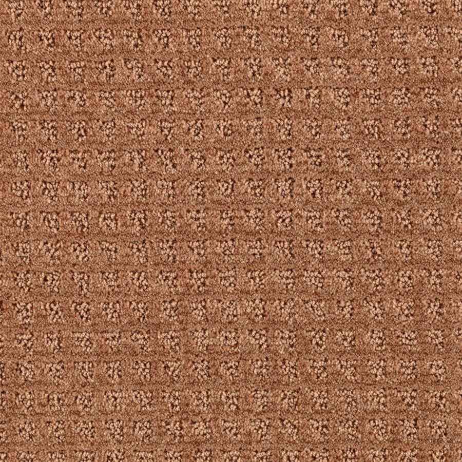 Mohawk Essentials Designboro 12-ft W x Cut-to-Length New Penny Textured Interior Carpet