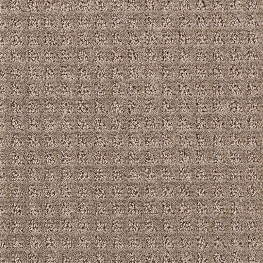 Mohawk Essentials Designboro 12-ft W x Cut-to-Length Taupe Mist Textured Interior Carpet