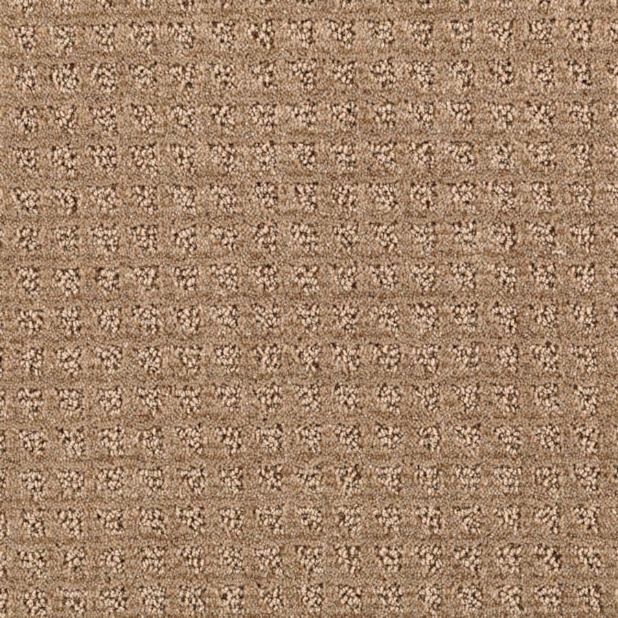 Mohawk Essentials Designboro 12-ft W x Cut-to-Length Soft Mink Textured Interior Carpet