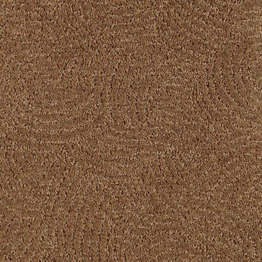 Mohawk Essentials Fashionboro Mocha Cut and Loop Indoor Carpet