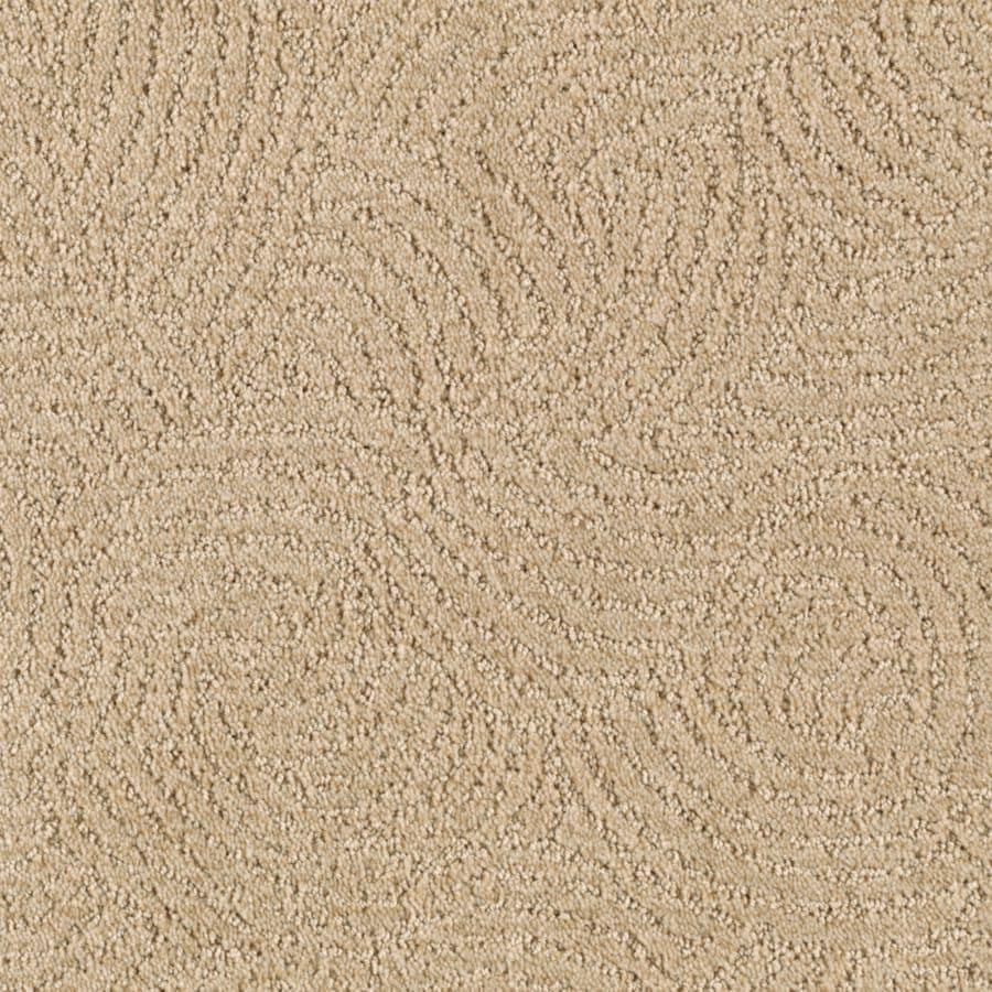 Mohawk Essentials Fashionboro 12-ft W x Cut-to-Length Flaxen Interior Carpet