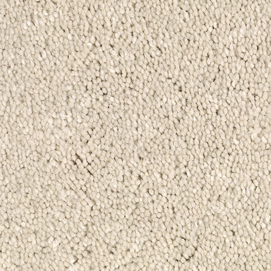 Mohawk Feature Buy 12-ft W x Cut-to-Length Arctic Ermine Textured Interior Carpet