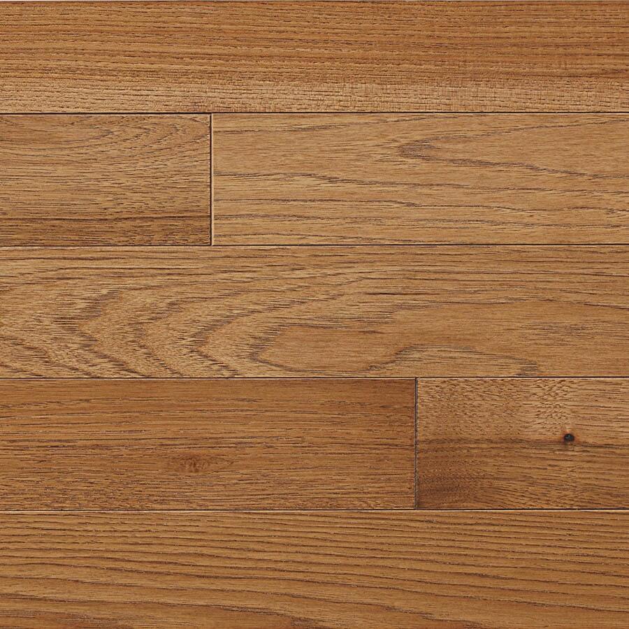 shop allen + roth 3.25-in saddle hickory hardwood flooring (17.6