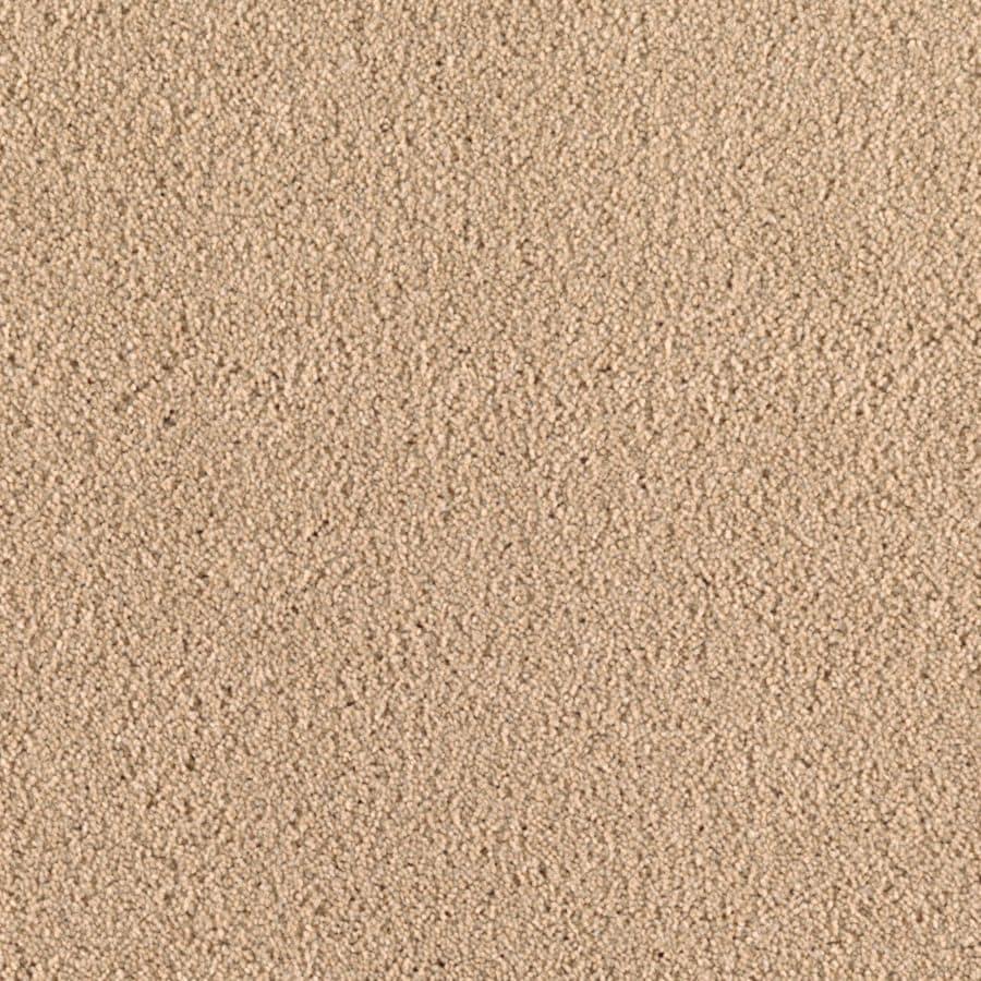 Mohawk Essentials Dream Big I 12-ft W x Cut-to-Length Wistful Beige Textured Interior Carpet