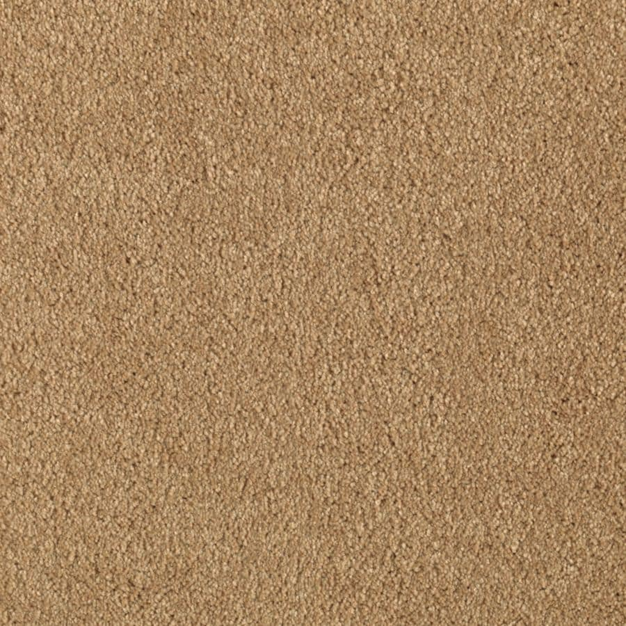Mohawk Essentials Dream Big II 12-ft W x Cut-to-Length Sun Tea Textured Interior Carpet
