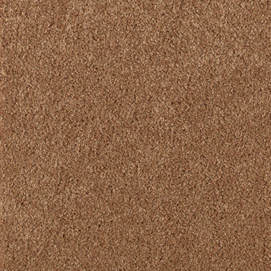 Mohawk Essentials Dream Big II 12-ft W x Cut-to-Length Teriyaki Textured Interior Carpet