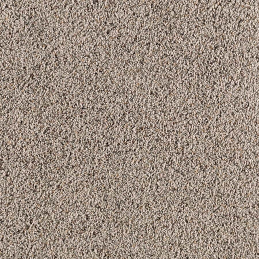 Mohawk Essentials Renewed Style I 12-ft W x Cut-to-Length Autumn Fog Textured Interior Carpet