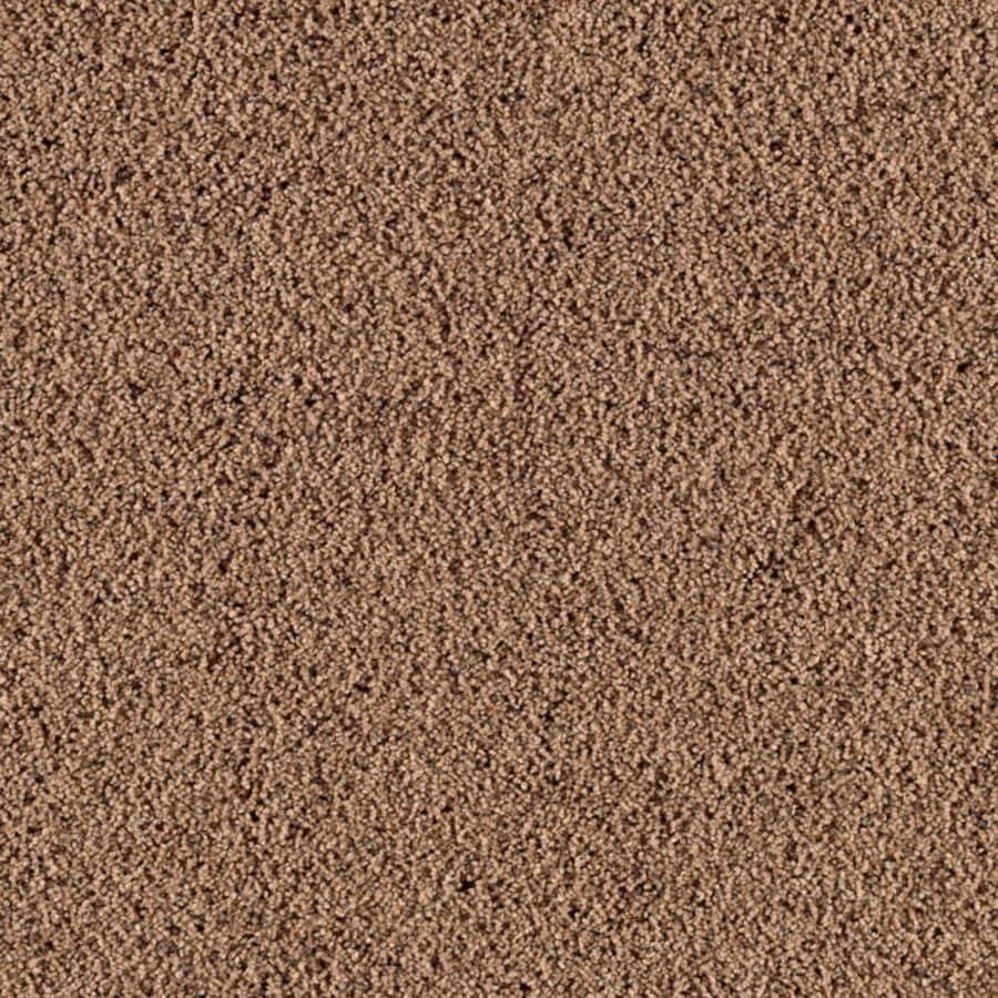 Mohawk Essentials Renewed Style III 12-ft W x Cut-to-Length Hazelnut Textured Interior Carpet