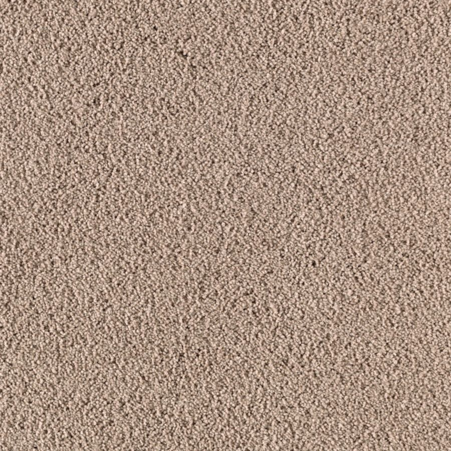 Mohawk Essentials Renewed Touch I 12-ft W Acorn Textured Interior Carpet