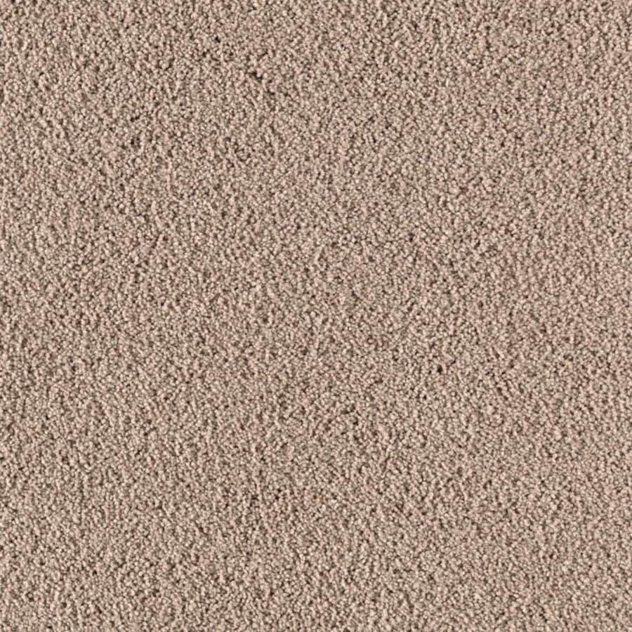 Mohawk Essentials Renewed Touch III 12-ft W x Cut-to-Length Acorn Textured Interior Carpet