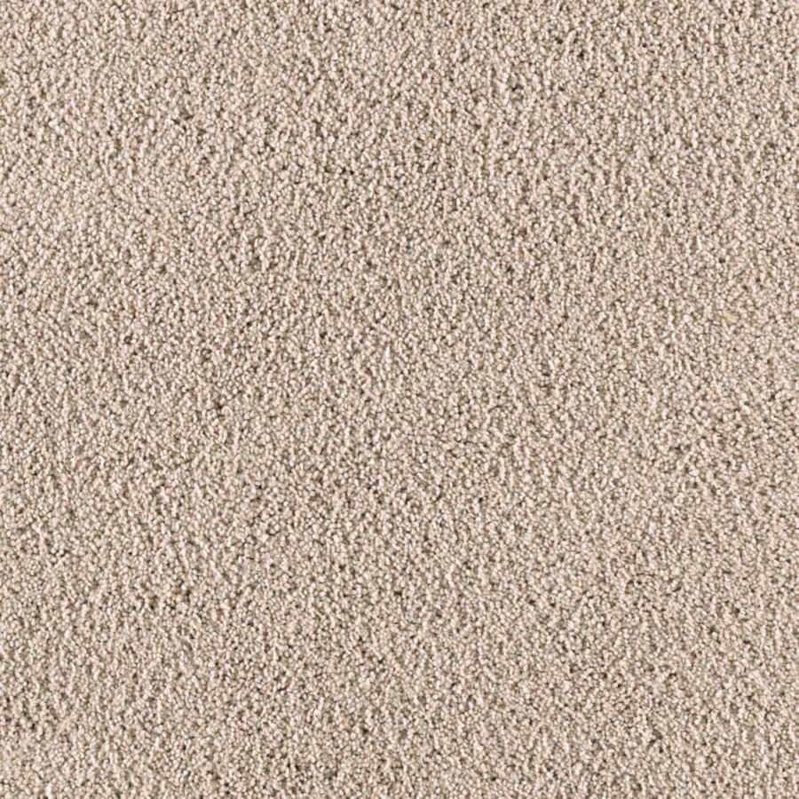 Mohawk Essentials Renewed Touch III 12-ft W x Cut-to-Length Smooth Sailing Textured Interior Carpet
