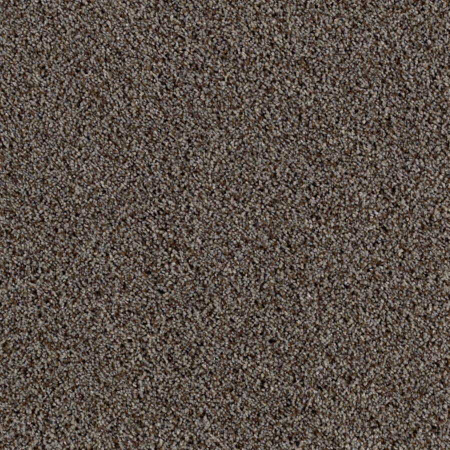 Mohawk Essentials Beautiful Design I 12-ft W x Cut-to-Length Crushed Rock Textured Interior Carpet