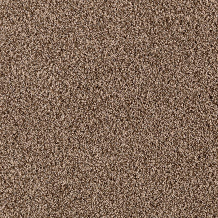 Mohawk Essentials Beautiful Design I 12-ft W x Cut-to-Length Falcon Beige Textured Interior Carpet