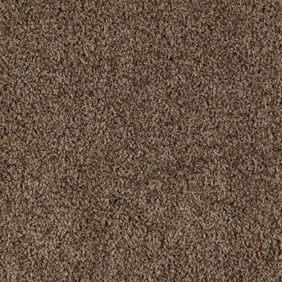 Mohawk Essentials Beautiful Design II 12-ft W x Cut-to-Length Tundra Textured Interior Carpet