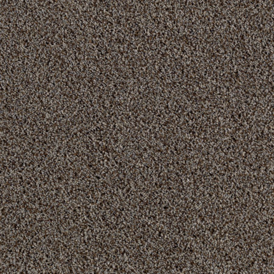 Mohawk Essentials Beautiful Design II 12-ft W x Cut-to-Length Crushed Rock Textured Interior Carpet