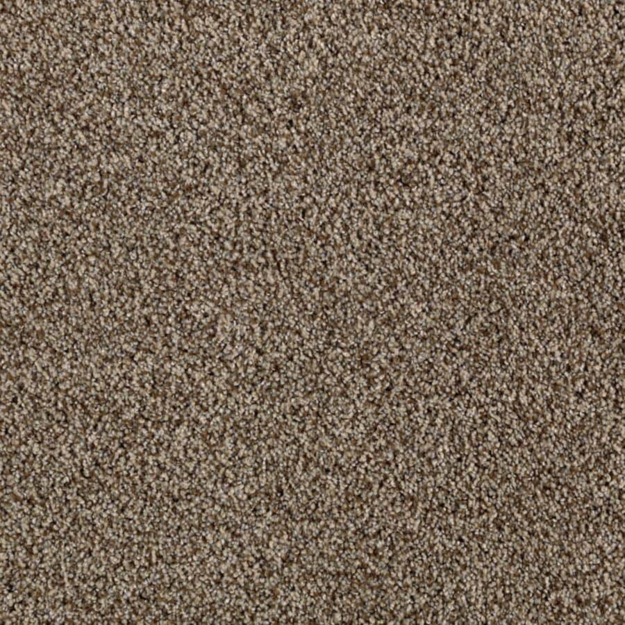 Mohawk Essentials Beautiful Design II 12-ft W x Cut-to-Length Drifting Sand Textured Interior Carpet