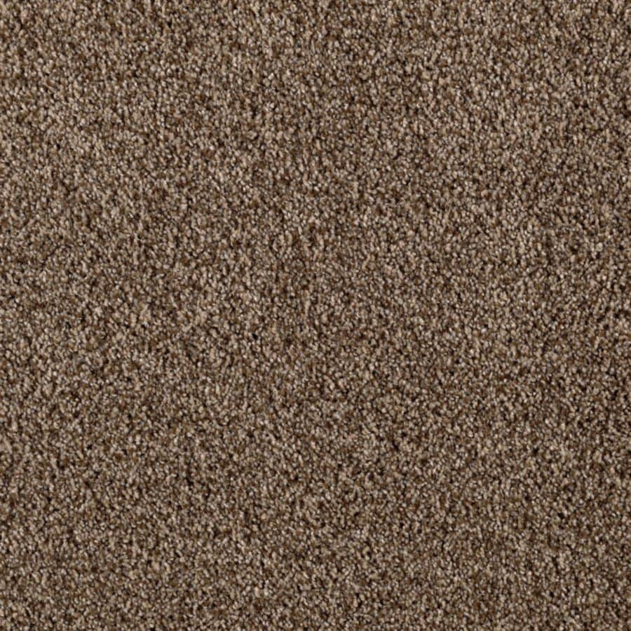 Mohawk Essentials Beautiful Design III 12-ft W x Cut-to-Length Urban Putty Textured Interior Carpet