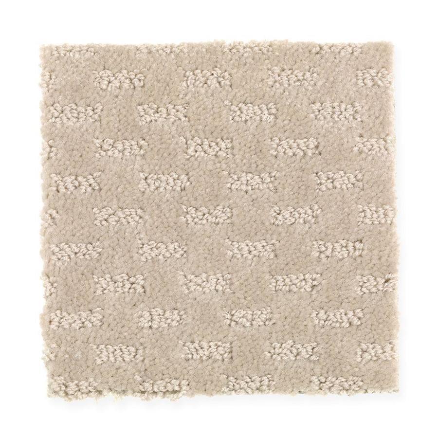 Mohawk Essentials Rejuvenation 12-ft W x Cut-to-Length Coastal Beige Textured Interior Carpet