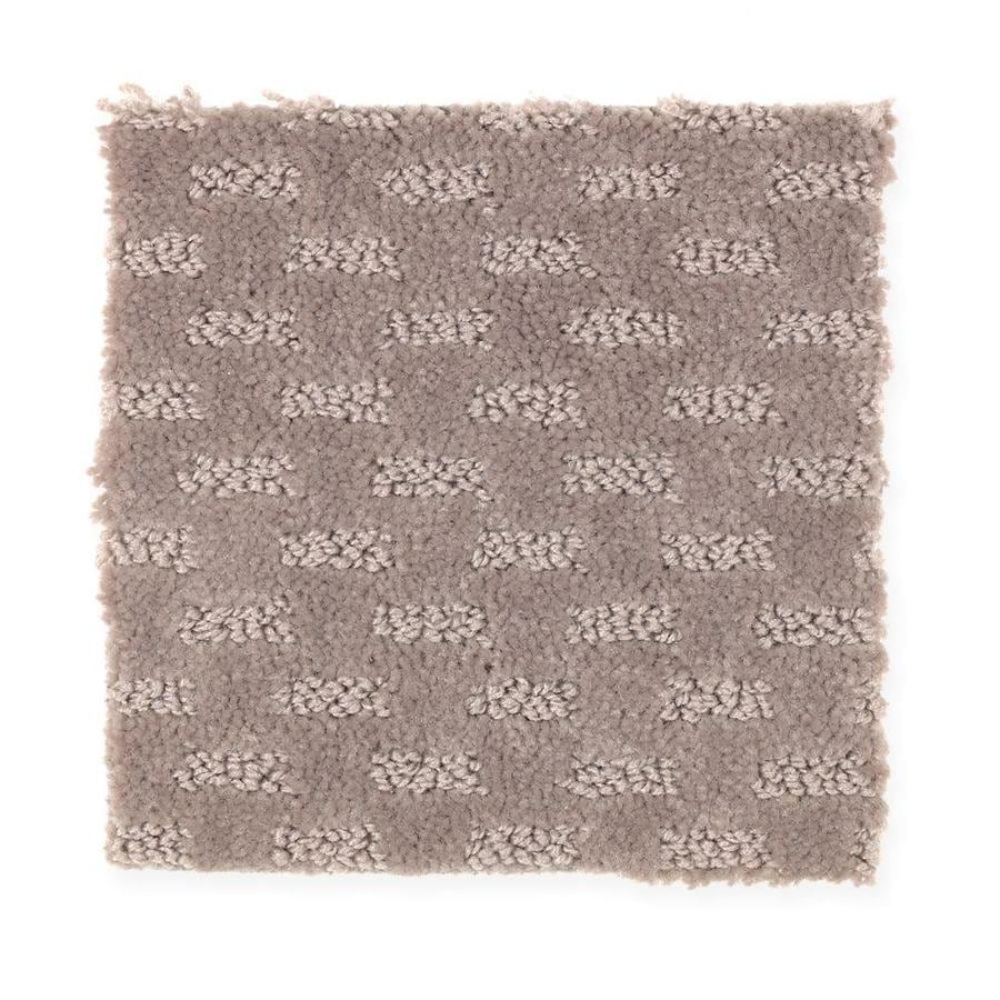 Mohawk Essentials Rejuvenation 12-ft W x Cut-to-Length Hearthstone Textured Interior Carpet