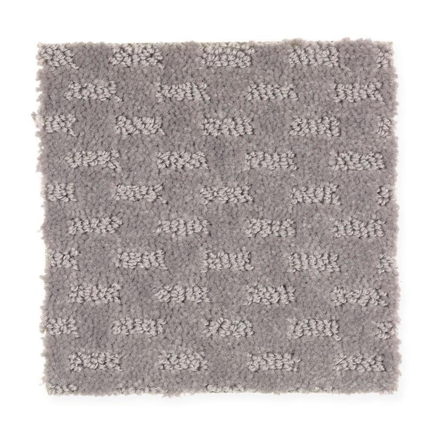 Mohawk Essentials Rejuvenation 12-ft W x Cut-to-Length Mineral Grey Textured Interior Carpet