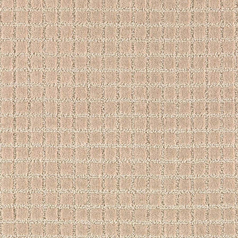 Mohawk Essentials Picture Perfect 12-ft W x Cut-to-Length Maple Tint Textured Interior Carpet