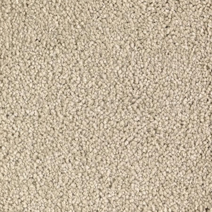 Mohawk Essentials Decor Flair Cream Soda Textured Interior Carpet
