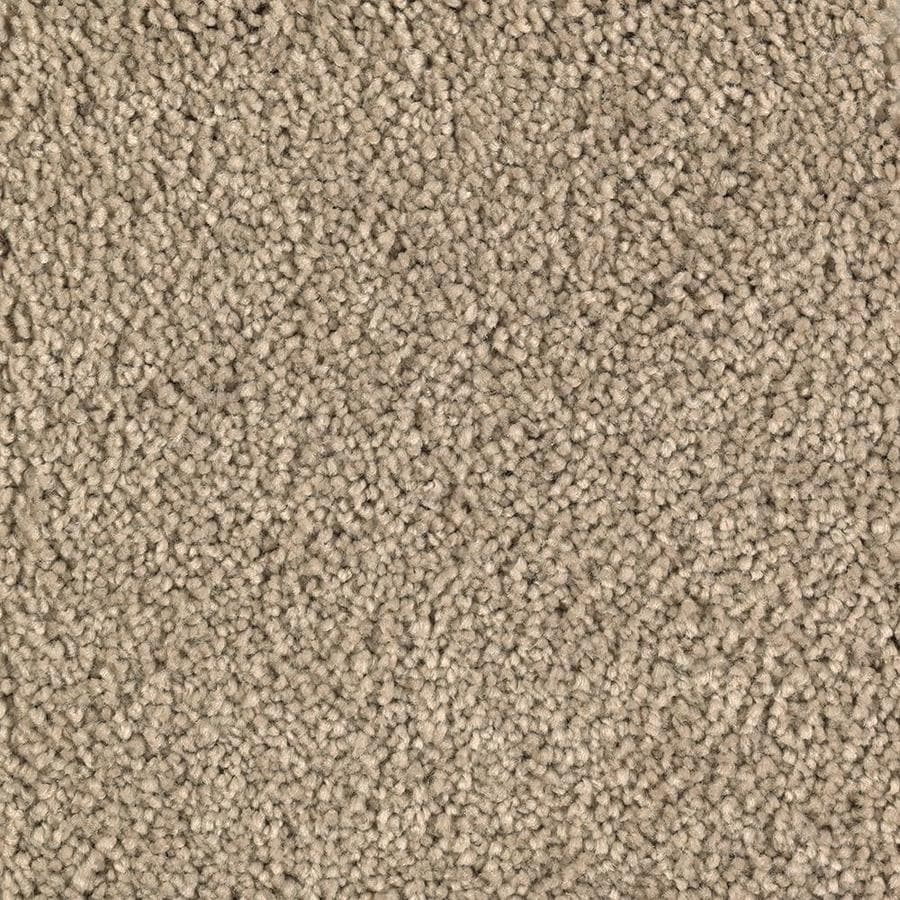 Mohawk Essentials Decor Flair Tawny Tan Textured Interior Carpet