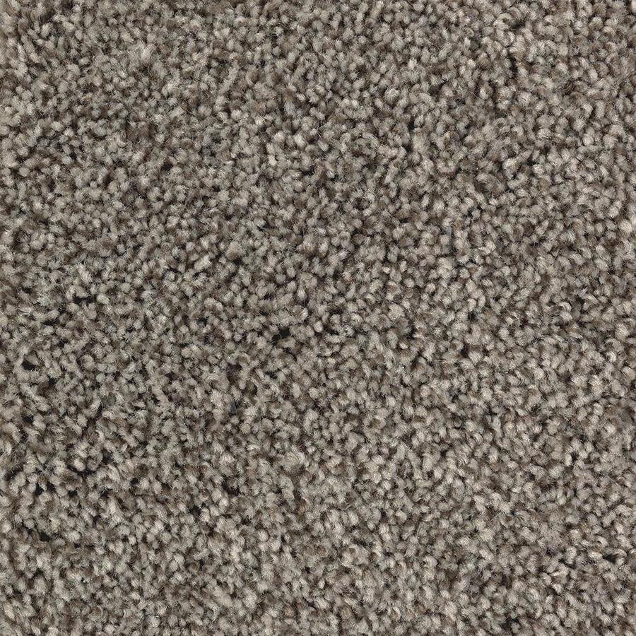 Mohawk Essentials Tonal Design 12-ft W x Cut-to-Length Perfect Taupe Textured Interior Carpet