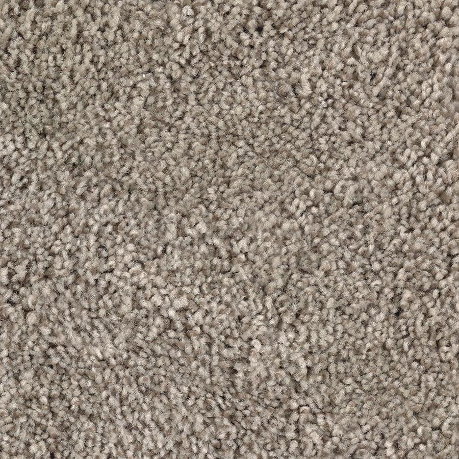 Mohawk Essentials Tonal Design 12-ft W x Cut-to-Length Gentle Doe Textured Interior Carpet