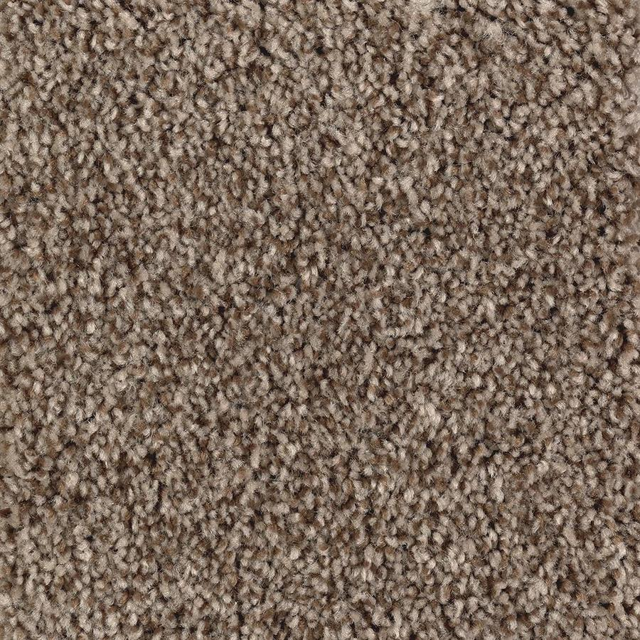 Mohawk Essentials Tonal Design 12-ft W x Cut-to-Length Pralines Textured Interior Carpet