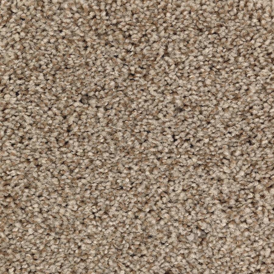 Mohawk Essentials Tonal Design 12-ft W x Cut-to-Length Amber Dawn Textured Interior Carpet