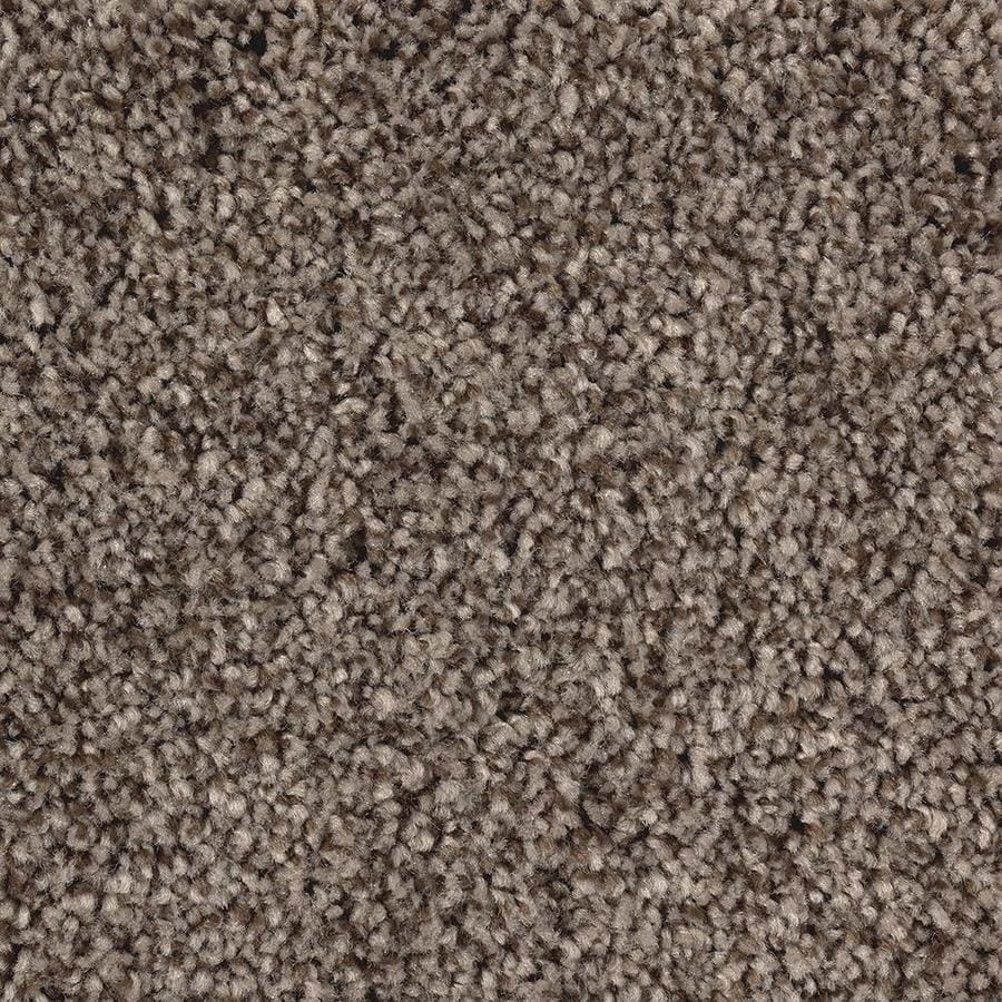 Mohawk Essentials Tonal Look 12-ft W x Cut-to-Length Caramel Toffee Textured Interior Carpet
