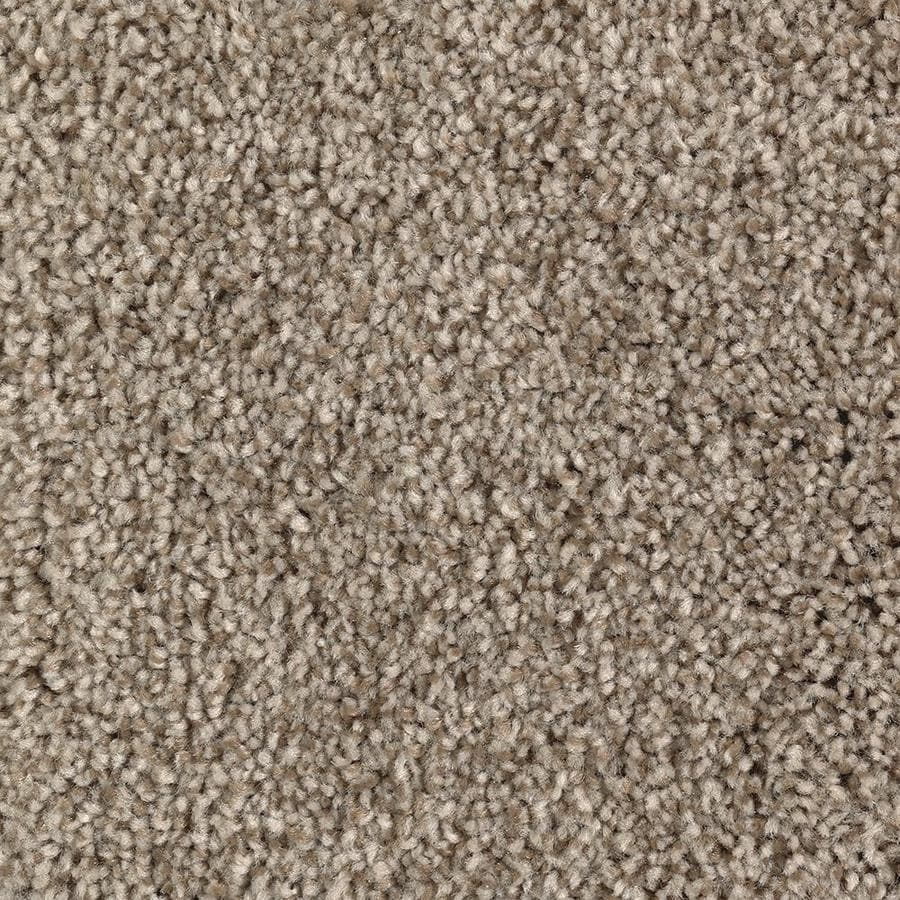 Mohawk Essentials Tonal Look 12-ft W x Cut-to-Length Soothing Neutral Textured Interior Carpet