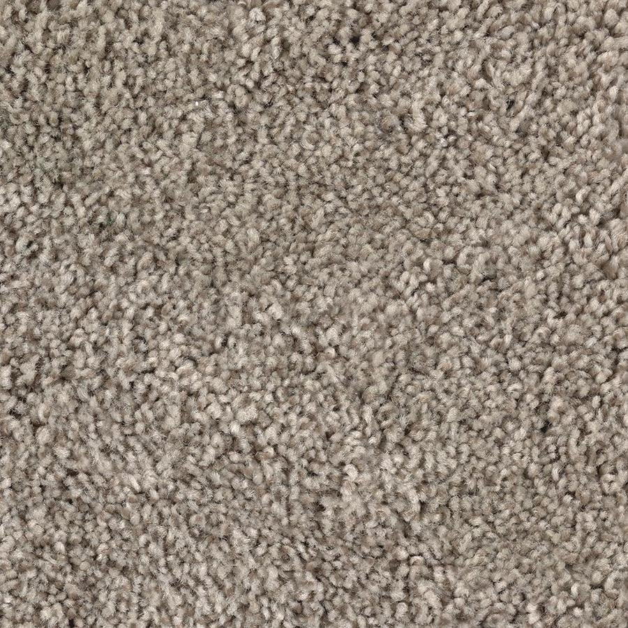 Mohawk Essentials Tonal Look 12-ft W x Cut-to-Length Gentle Doe Textured Interior Carpet