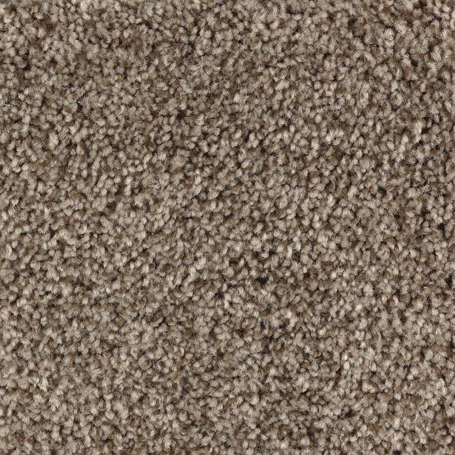 Mohawk Essentials Tonal Look 12-ft W x Cut-to-Length Cedar Chest Textured Interior Carpet