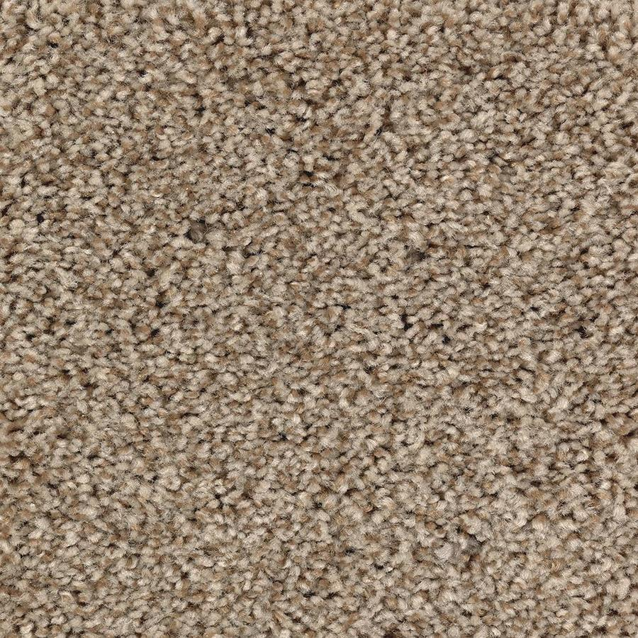 Mohawk Essentials Tonal Look 12-ft W x Cut-to-Length Amber Dawn Textured Interior Carpet