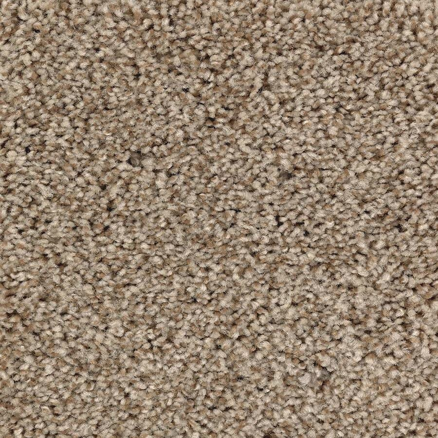 Mohawk Essentials Tonal Look 12-ft W Amber Dawn Textured Interior Carpet