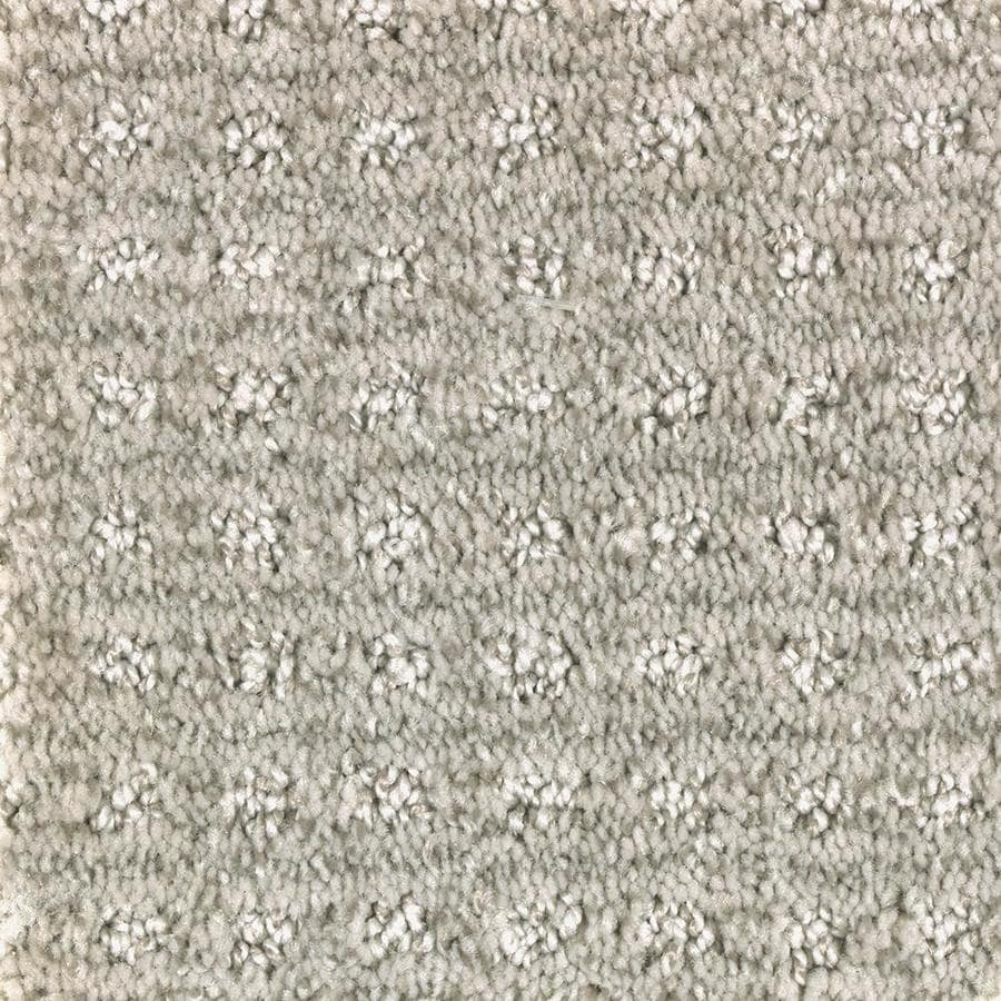 Mohawk Essentials Fashion Lane 12-ft W x Cut-to-Length Winter Calm Pattern Interior Carpet