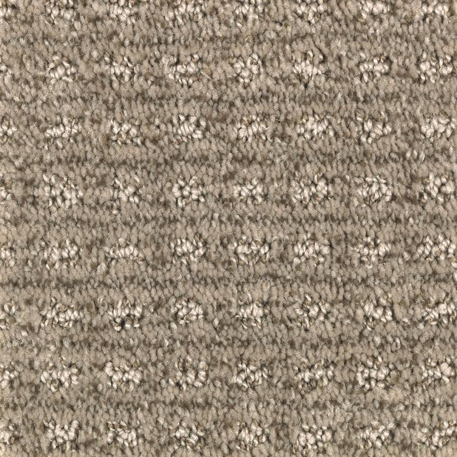 Mohawk Essentials Fashion Lane 12-ft W x Cut-to-Length Soothing Neutral Pattern Interior Carpet