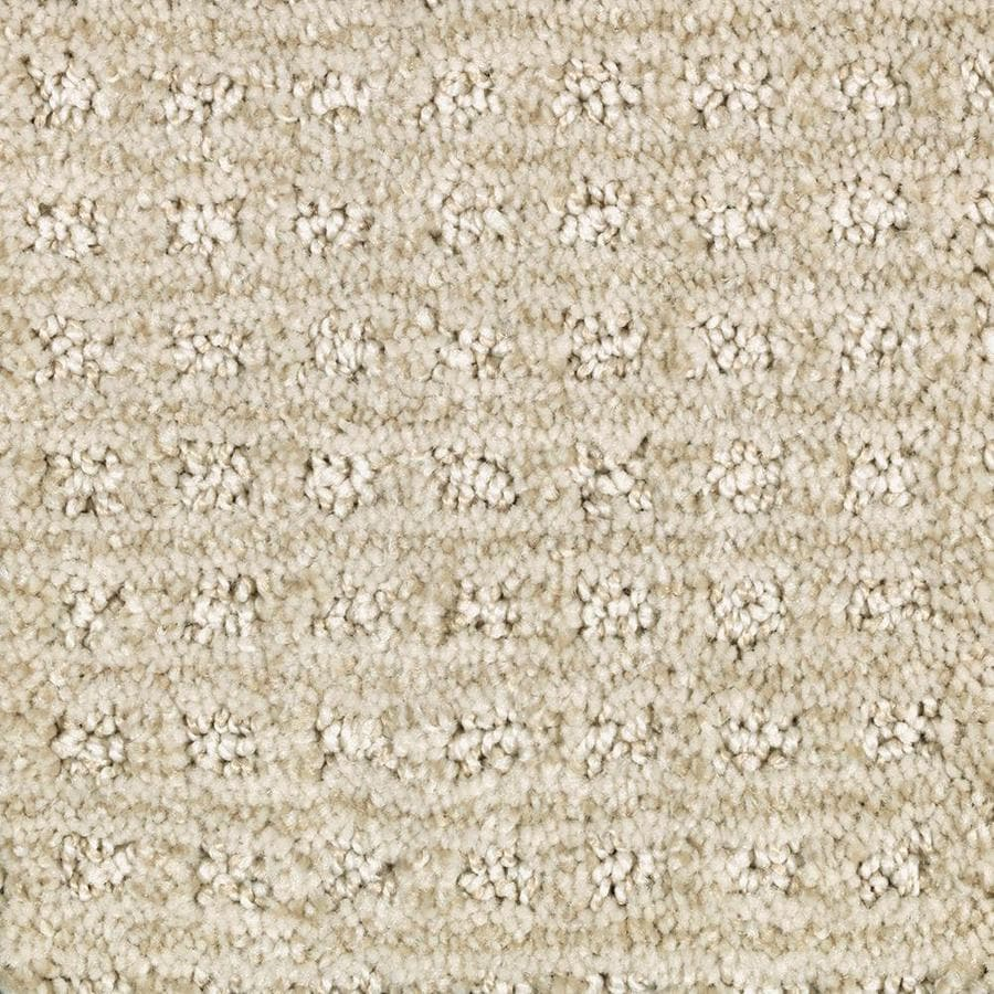 Mohawk Essentials Fashion Lane 12-ft W x Cut-to-Length Champagne Glee Pattern Interior Carpet