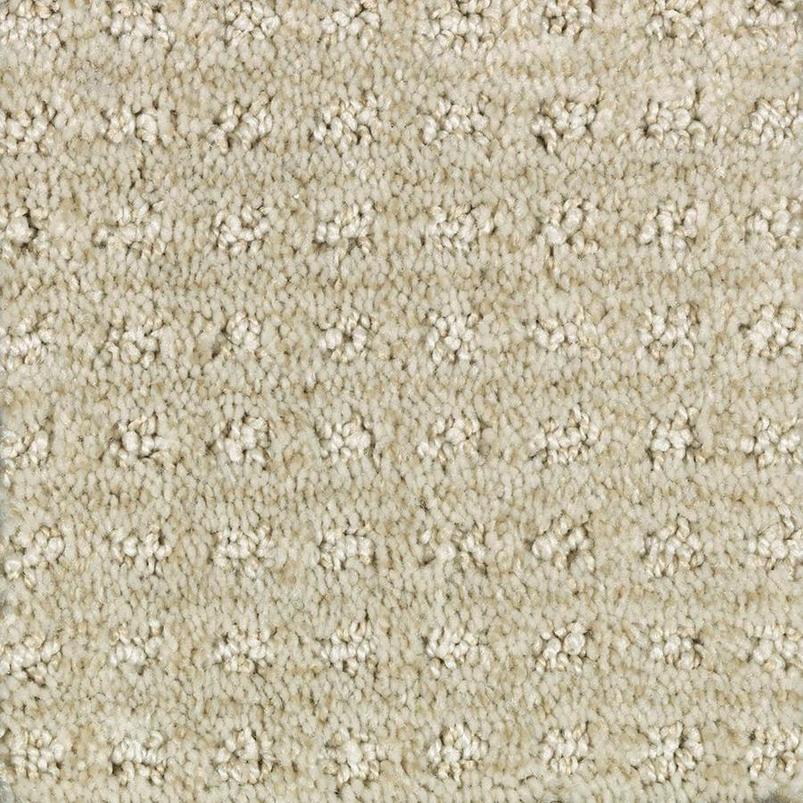 Mohawk Essentials Fashion Lane 12-ft W x Cut-to-Length Cream Soda Pattern Interior Carpet