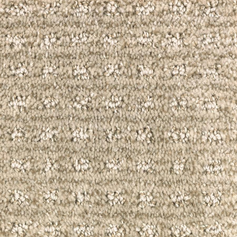 Mohawk Essentials Fashion Lane 12-ft W x Cut-to-Length Tawny Tan Pattern Interior Carpet