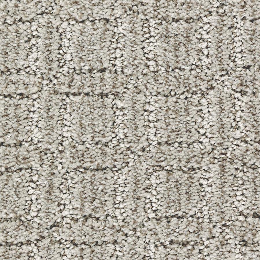 Mohawk Essentials Fashion Walk 12-ft W x Cut-to-Length Winter Calm Pattern Interior Carpet