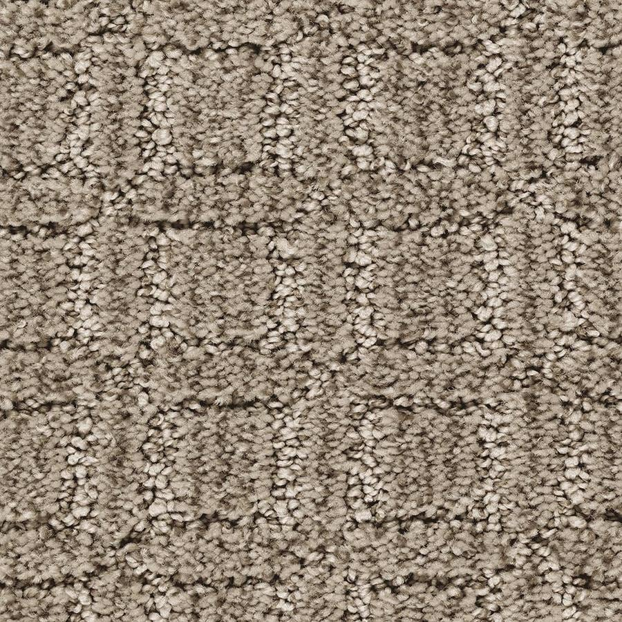 Mohawk Essentials Fashion Walk Perfect Taupe Pattern Interior Carpet