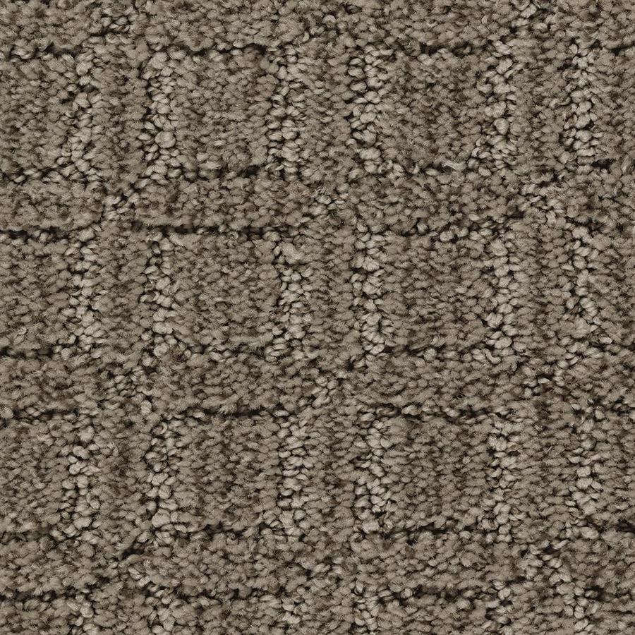 Mohawk Essentials Fashion Walk 12-ft W x Cut-to-Length Walnut Shell Pattern Interior Carpet