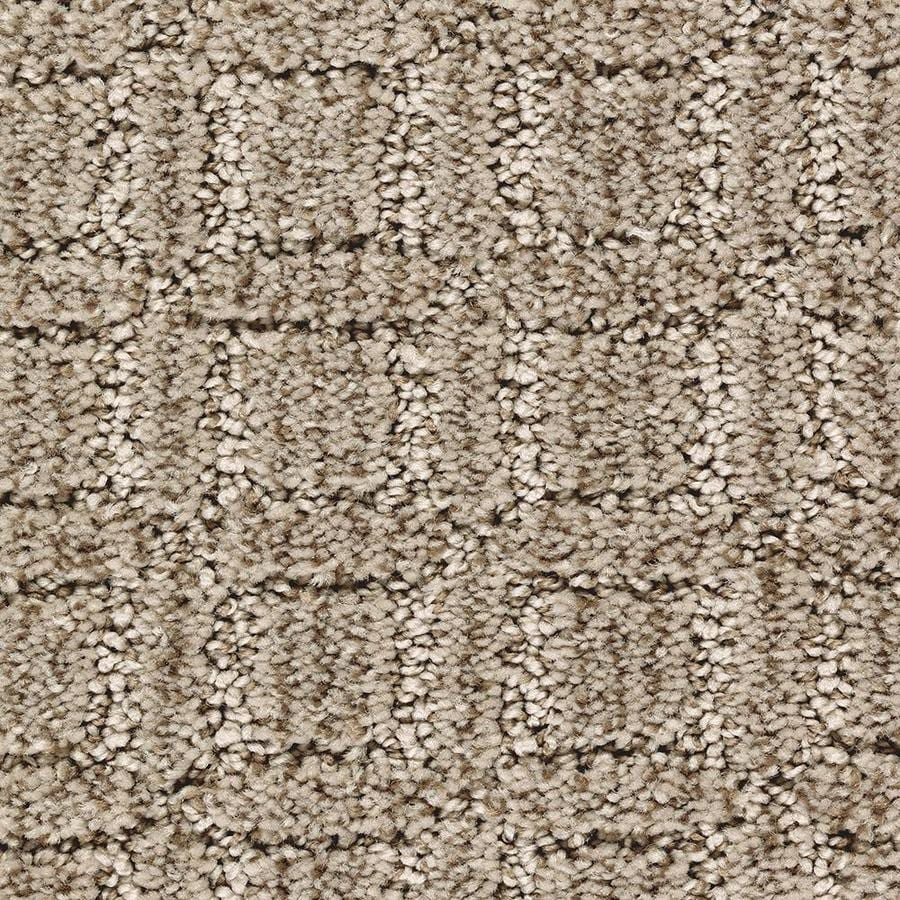 Mohawk Essentials Fashion Walk 12-ft W x Cut-to-Length Soothing Neutral Pattern Interior Carpet